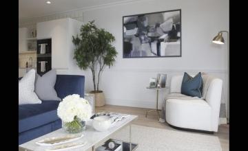Thiết kế các loại căn hộ 2 phòng ngủ dự án Florence Mỹ Đình.
